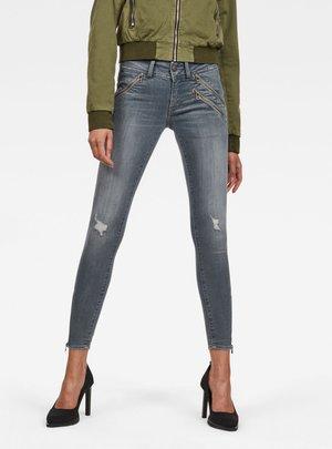 Lynn Biker Skinny Ankle - Jeans Skinny Fit - grey