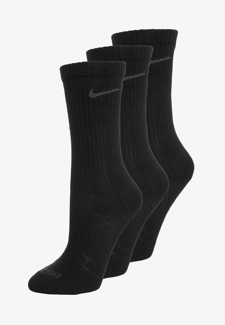 Plisado papa conductor  Nike Performance DRI-FIT LIGHTWEIGHT 3 PACK - Calcetines de deporte -  black/negro - Zalando.es