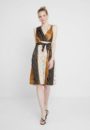 Vestido informal - black/gold