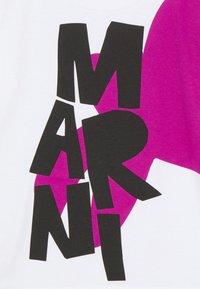 Marni - MAGLIETTA UNISEX - Print T-shirt - white - 2