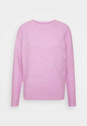 VMDOFFY O NECK - Sweter - african violet melange