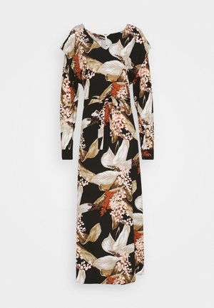 OBJLILITI LONG DRESS - Denní šaty - black