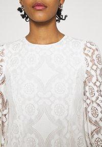 YAS - YASWILMA - Langarmshirt - star white - 4