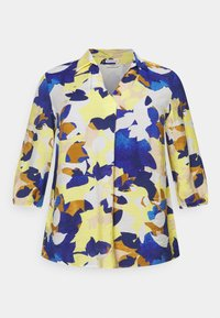 MY TRUE ME TOM TAILOR - BLOUSE WITH OPEN COLLAR - Blouse - multi-coloured - 0