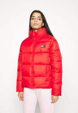 TJW MODERN PUFFER  - Winter jacket - deep crimson