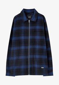 PULL&BEAR - MIT REISSVERSCHLUSS  - Koszula - blue - 6