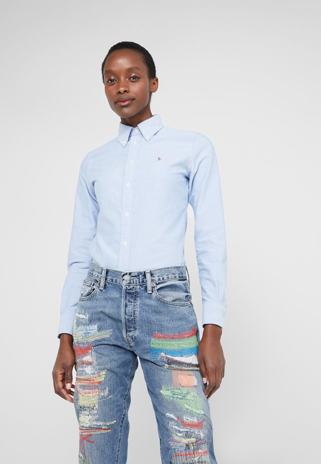 OXFORD KENDAL SLIM FIT - Button-down blouse - blue