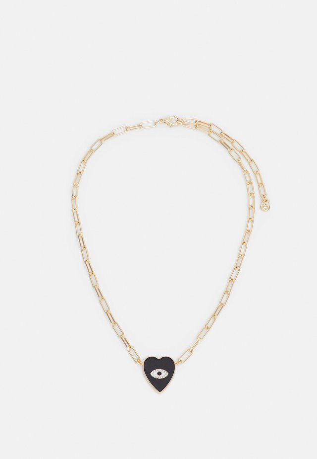 Necklace - black/gold-coloured