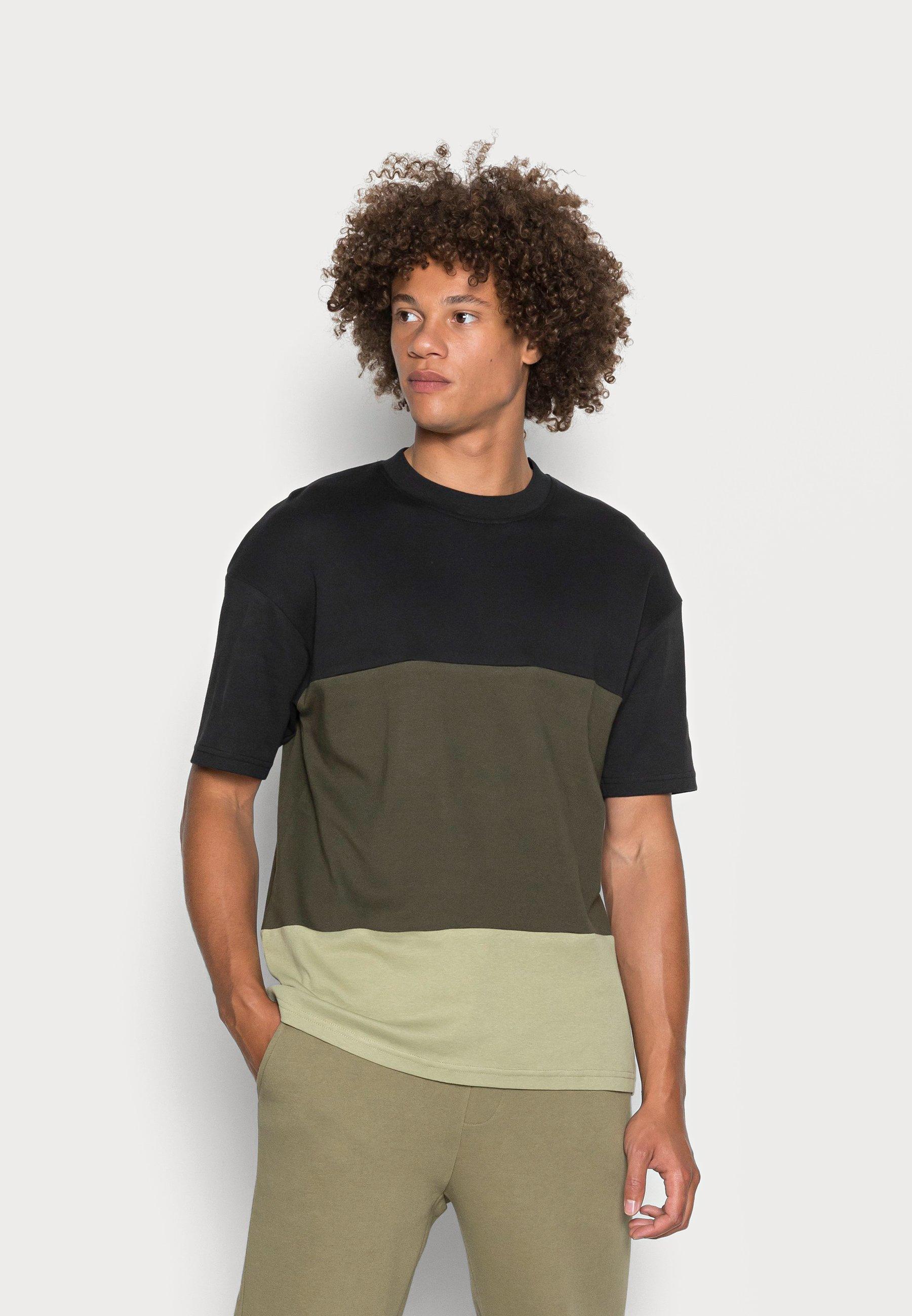 Men JCOPOKE CREW NECK - Print T-shirt