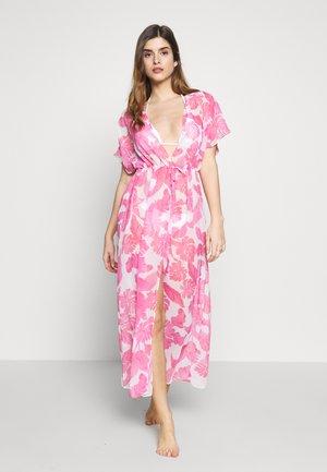 DRESS BEACHWR WOMAN - Beach accessory - tropical print