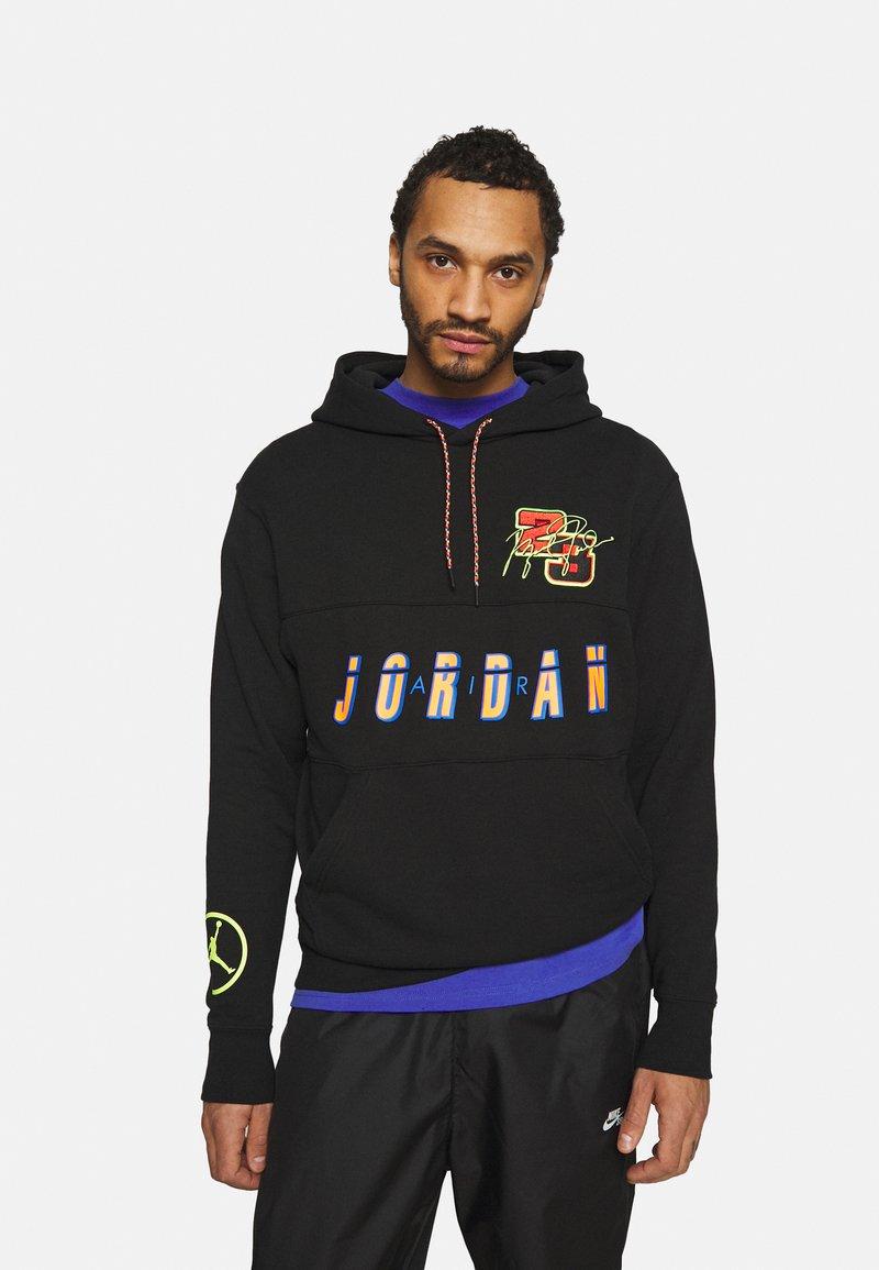 Jordan - HOODIE - Sweatshirt - black/cyber