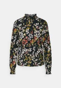 ONLY - ONLZILLE DETAIL SMOCK - Blouse - night sky/blooming flower - 3
