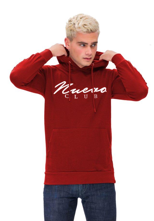 KAPUZENSWEATSHIRT MAN SWEATSHIRT - Felpa con cappuccio - red