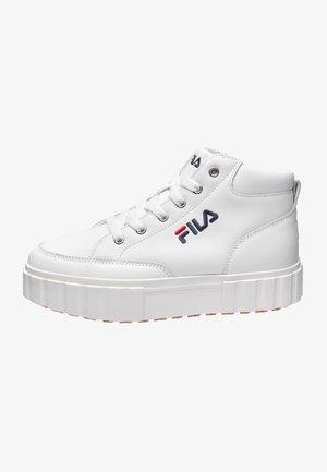 SANDBLAST L MID WMN - Sneakers - white