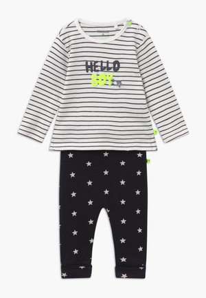 SET  - Pantaloni - anthracite/off-white
