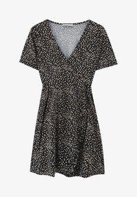 PULL&BEAR - Sukienka letnia - black - 4