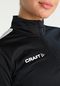 Craft - PROGRESS HALFZIP TEE - Sportswear - black - 5