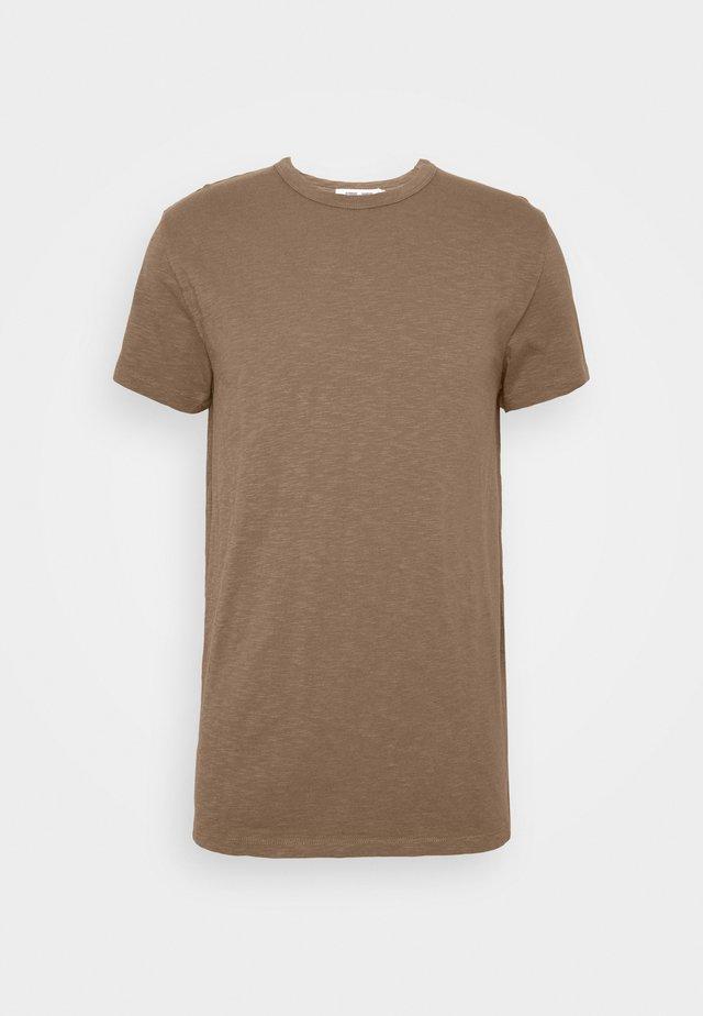 LASSEN  - T-shirt basic - shitake