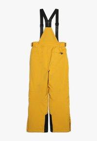 Killtec - GAUROR UNISEX - Zimní kalhoty - gebranntes gelb - 1