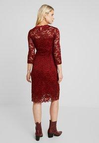 MAMALICIOUS - MLMIVANA DRESS - Robe de soirée - fired brick - 2