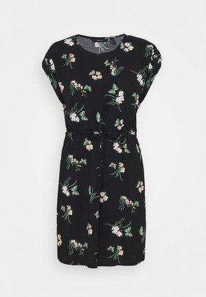VMSIMPLY EASY TIE SHORT DRESS - Korte jurk - black