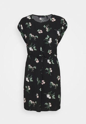 VMSIMPLY EASY TIE SHORT DRESS