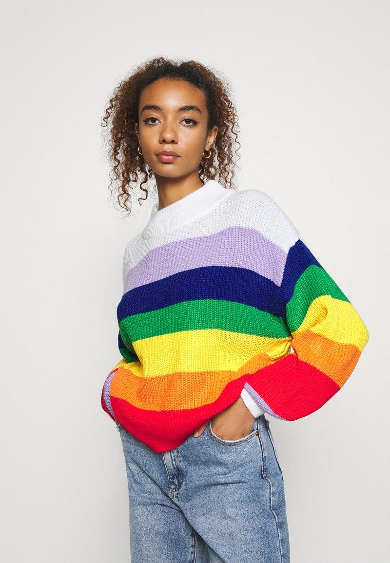 Monki - MANDA - Strikkegenser - multi-coloured