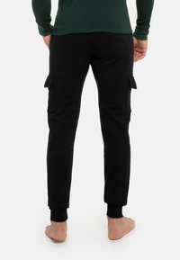 Schiesser Revival - Cargo trousers - schwarz - 2