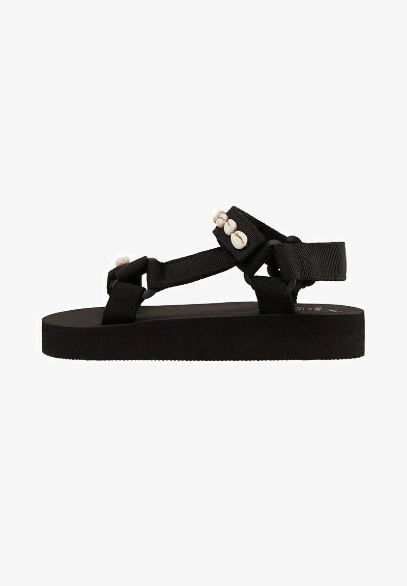 Mango - Sandals - schwarz