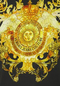 Versace Jeans Couture - GOLD BAROQUE - Print T-shirt - black - 7