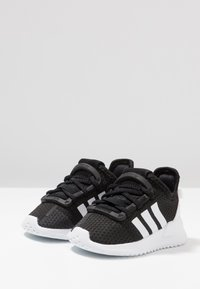 adidas Originals - PATH RUN  - Trainers - clear black/footwear white/shock red - 3