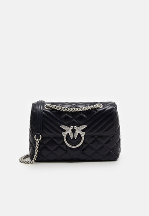 LOVE CLASSIC PUFF  - Across body bag - dark blue