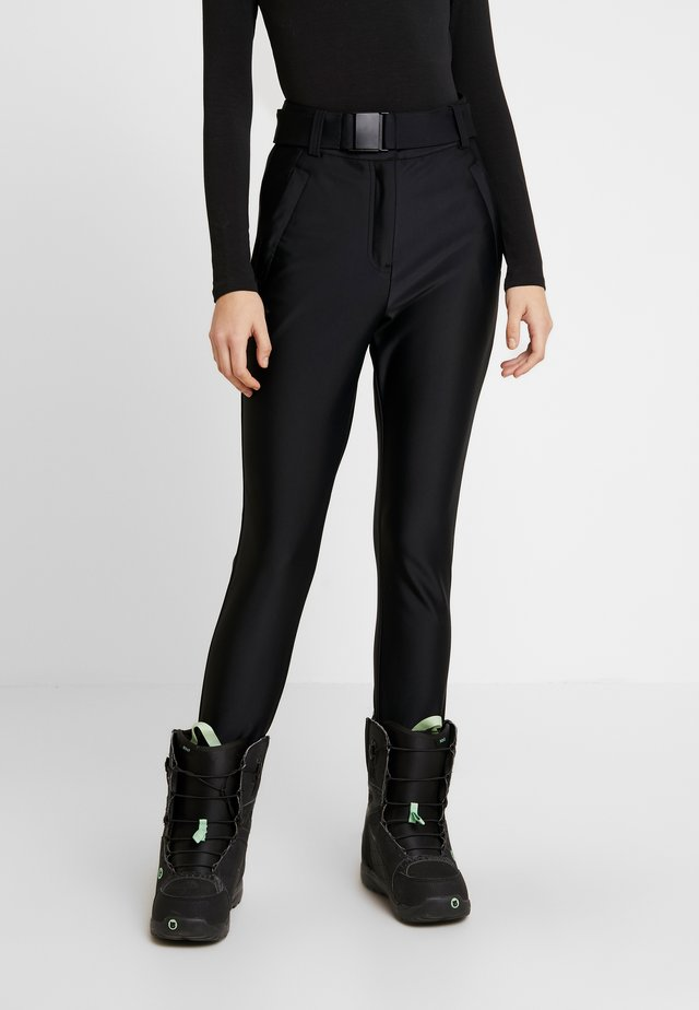 SNO VENUS DISCO - Trousers - black
