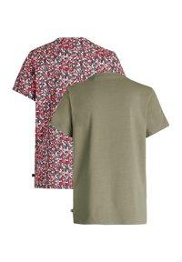 WE Fashion - MEISJES MET OPDRUK, 2-PACK - Print T-shirt - multi-coloured - 3