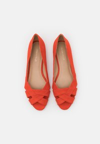 Anna Field - Peeptoe ballet pumps - orange - 5