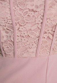 WAL G. - LIZZY MIDI DRESS - Sukienka z dżerseju - blush pink - 6