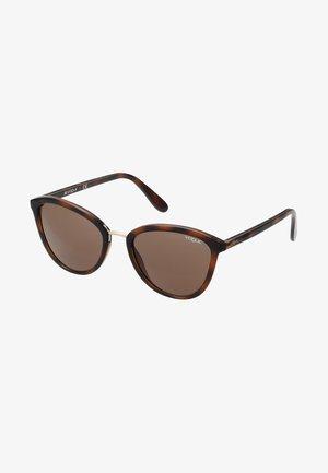 Zonnebril - top havana light brown