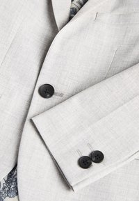 Next - NAVY SKINNY FIT SUIT JACKET (12MTHS-16YRS) - blazer - grey - 2