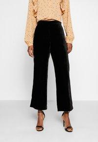 J.CREW TALL - PULL ON PEYTON - Trousers - black - 0