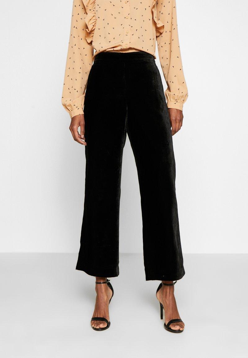 J.CREW TALL - PULL ON PEYTON - Trousers - black