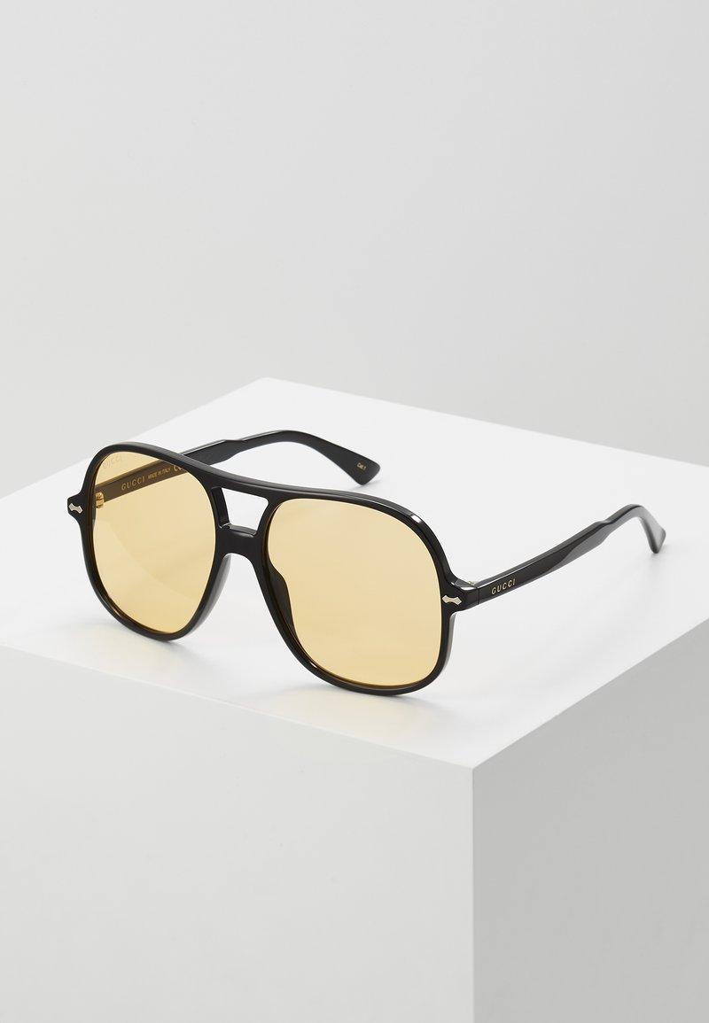 Gucci - Solbriller - black/yellow