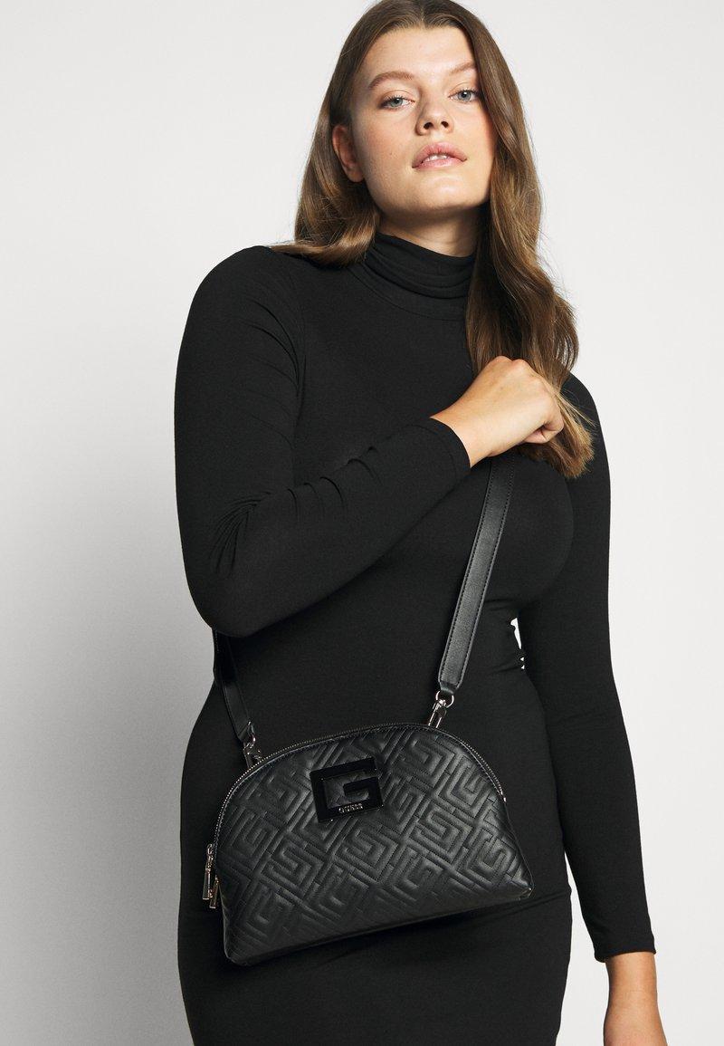 Guess - JANAY STATUS  - Across body bag - black
