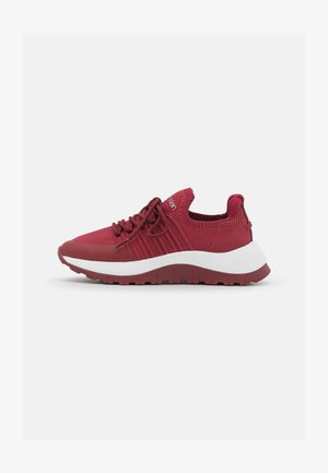LACE UP  - Trainers - red currant