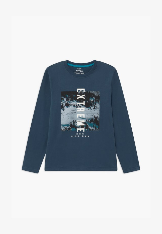 COLMO - Long sleeved top - blue