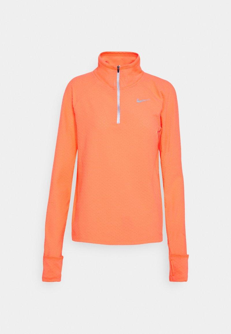 Nike Performance - SPHERE - Sweatshirt - bright mango/silver