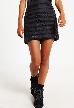 GANDER - Sports skirt - caviar