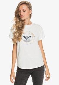 Roxy - Print T-shirt - snow white - 3