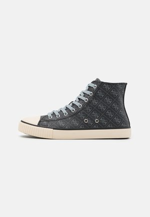 EDERLE  - High-top trainers - black/grey