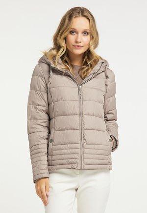 Zimní bunda - steingrau