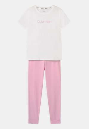 Pyjama set - romantic pink/white
